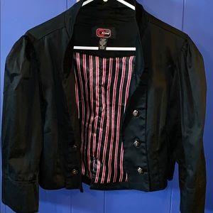 Cherry Crave  black Short Jacket XL